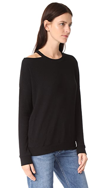 Splendid Sylvie Rib Sweater