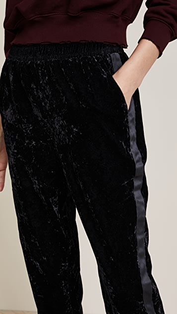Splendid Crushed Velvet Pants