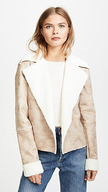 Splendid Delancey Cropped Jacket