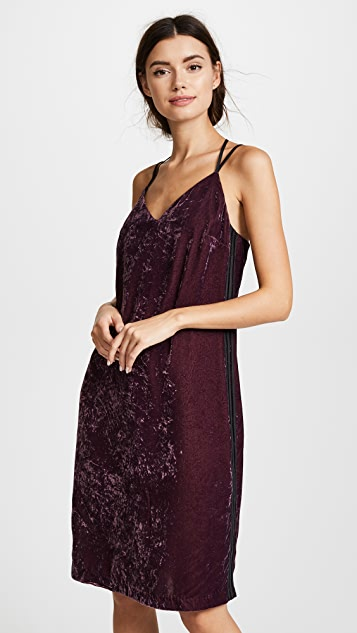Splendid Crushed Velvet Dress