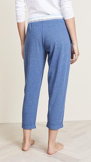 Splendid Cropped PJ Pants
