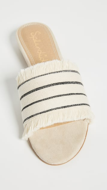 Splendid Baldwyn Striped Slides