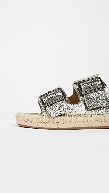 Splendid Blake Double Strap Slides