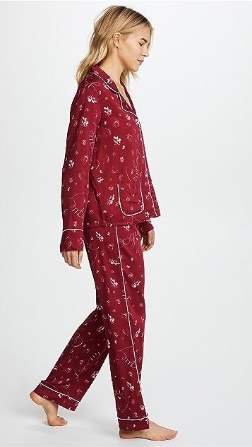 Splendid x Vogue Long Sleeve PJ Set
