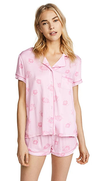 Splendid x Vogue Short Sleeve PJ Set