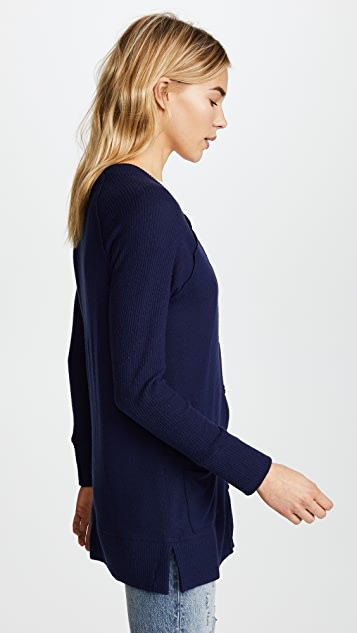 Splendid x Vogue Hacci Cardigan
