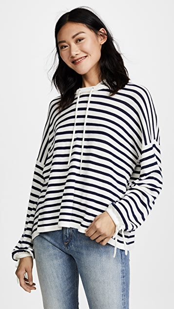 Splendid Seabound Sweater - Natural/Navy