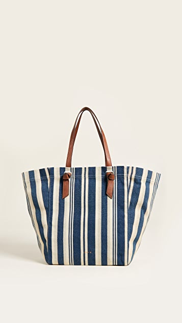 Splendid Souk Tote - Blue Stripe