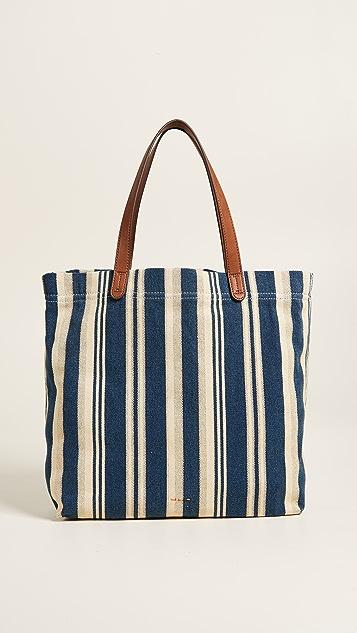 Splendid Mateo Tote - Blue Stripe