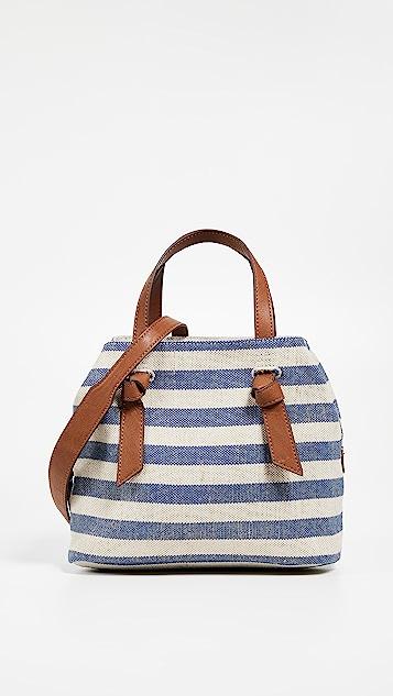 Splendid Bodega Satchel - Metallic Stripe Blue