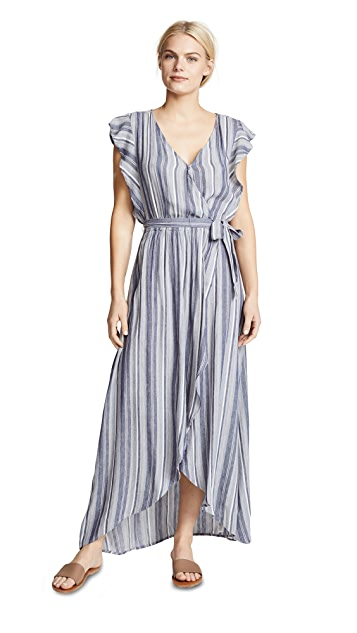 Splendid Chambray Striped Dress