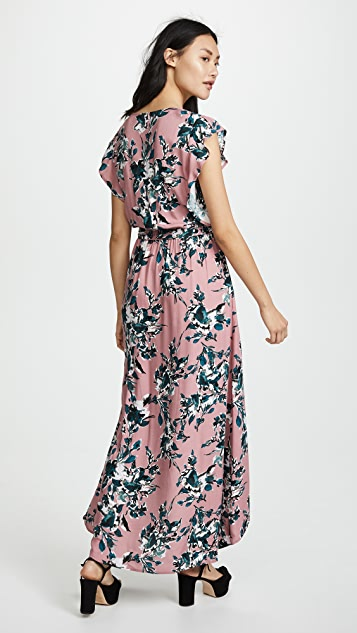 Splendid Painted Floral Dress