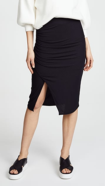 2x1 Rib Skirt by Splendid