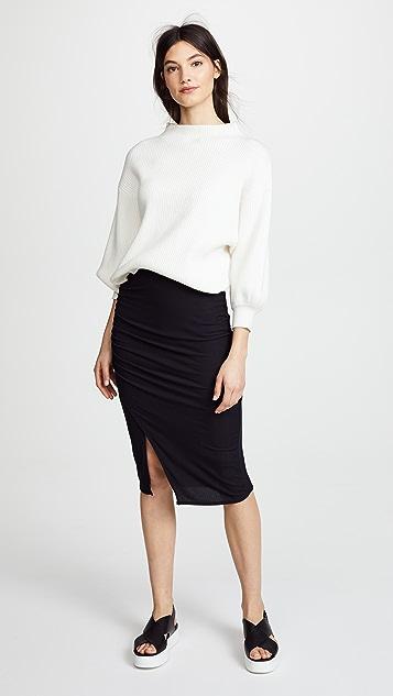 Splendid 2x1 Rib Skirt