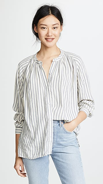 Pirouette Stripe Blouse by Splendid