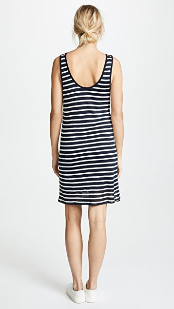 Splendid Linen Shadow Stripe Dress