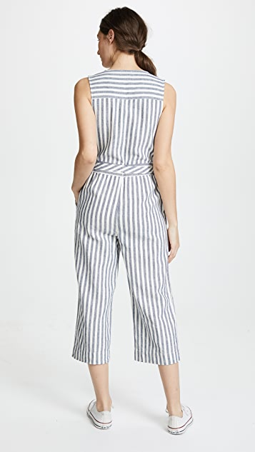 Splendid Striped Jumpsuit