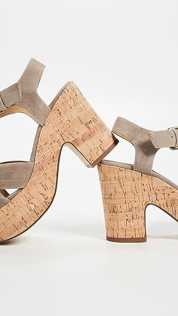 Splendid Flaire Cork Sandals