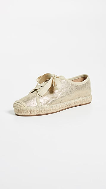 Splendid Flora Espadrilles - Light Gold