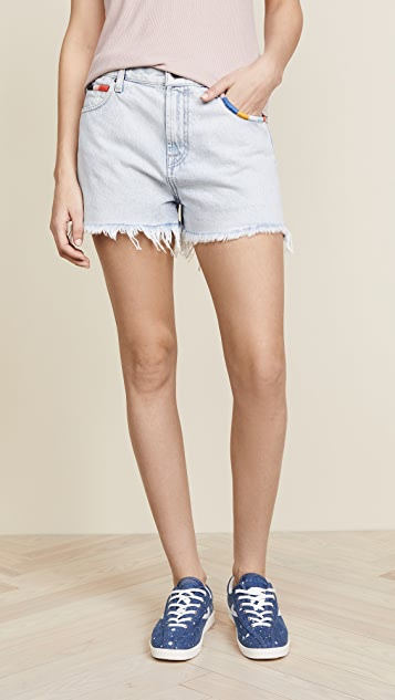 Splendid x Margherita Amore Jean Shorts