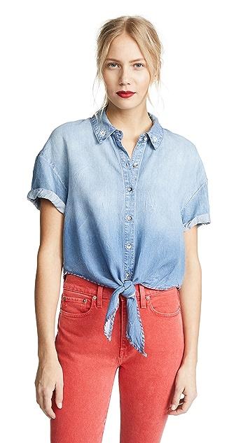 Splendid x Margherita Roma Indigo Shirt