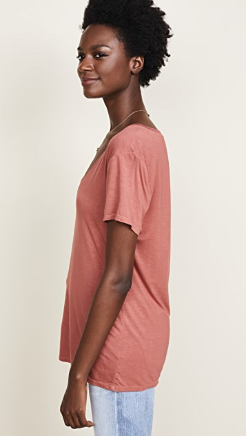 Splendid V Neck Tee