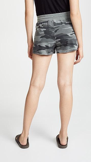 Splendid Camo Active Shorts