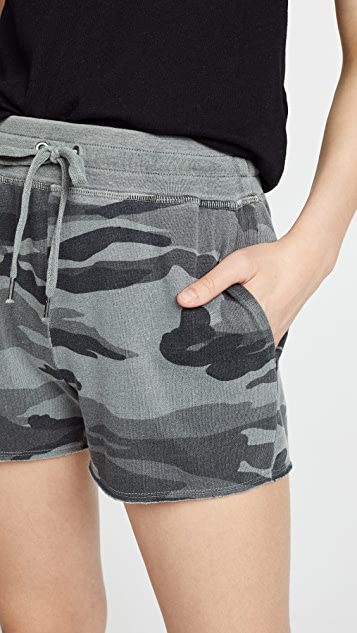 Splendid Camo Active Shorts