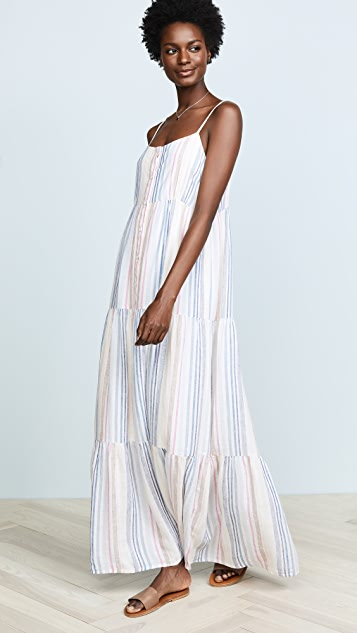 Splendid Arco Iris Stripe Dress