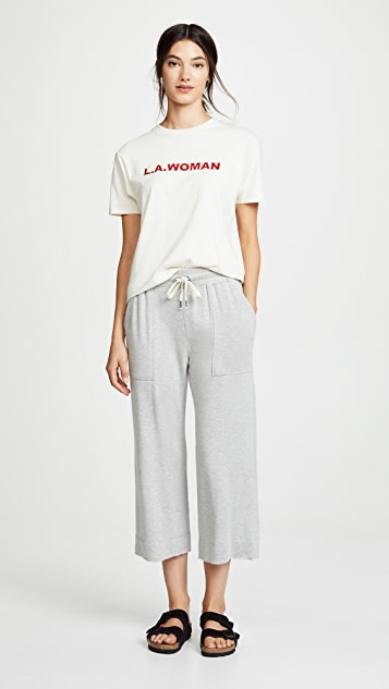 Splendid Cropped Sweatpants