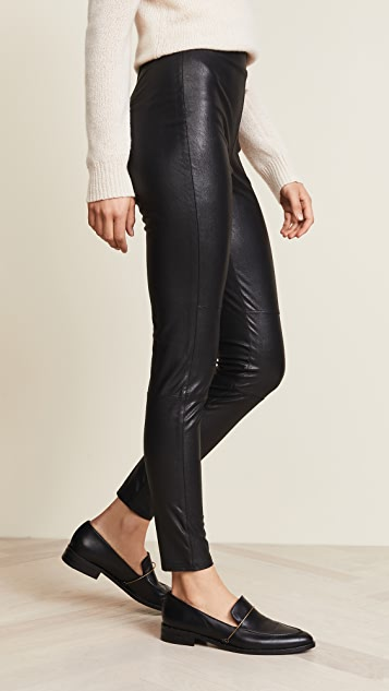 Splendid Downtown Faux Leather Leggings