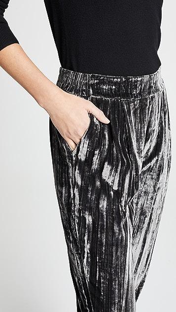 Splendid Moonstone Velvet Pants