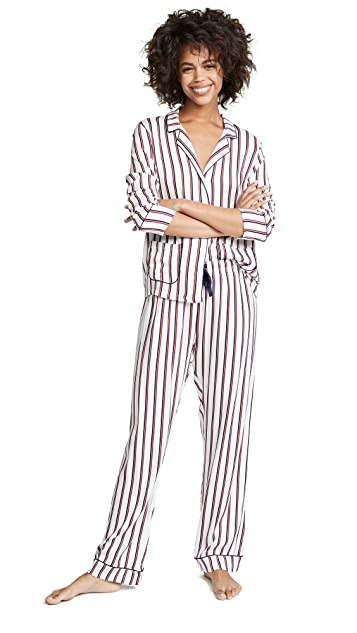 Splendid Notch Collar PJ Set