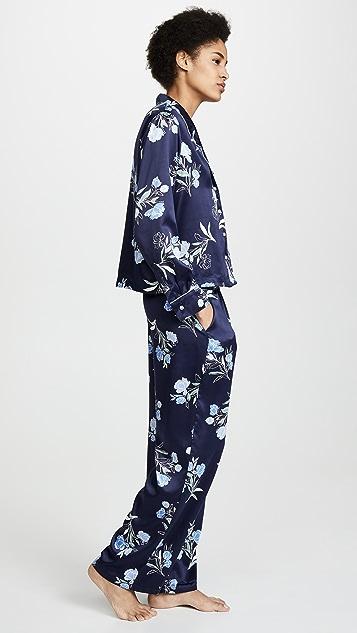 Splendid Crop Tie PJ Set