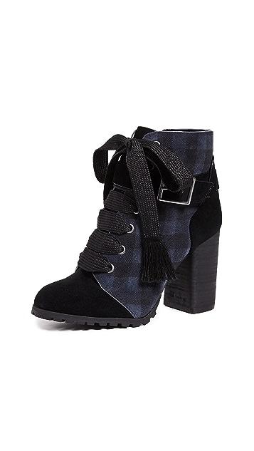 Splendid Cesar Block Heel Combat Boots