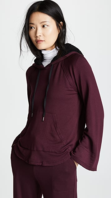 Splendid Super Soft Hoodie with Sherpa