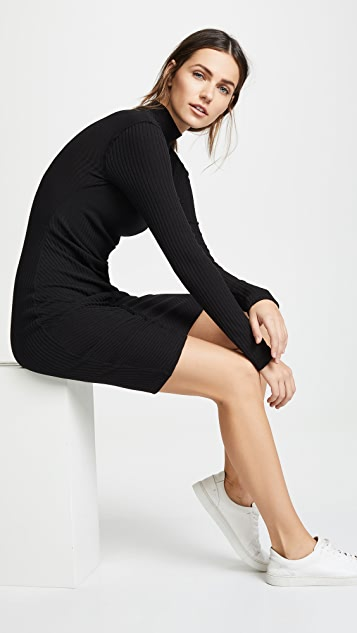 Splendid Sylvie Rib Knit Dress