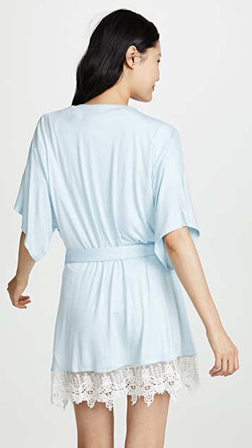 Splendid Bridal Ruffle Sleep Robe