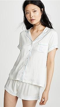 Bridal Shortie Pajama Set
