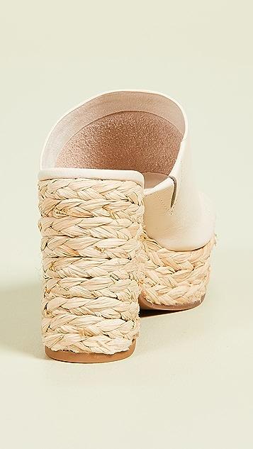 Splendid Theodore 厚底编织便鞋