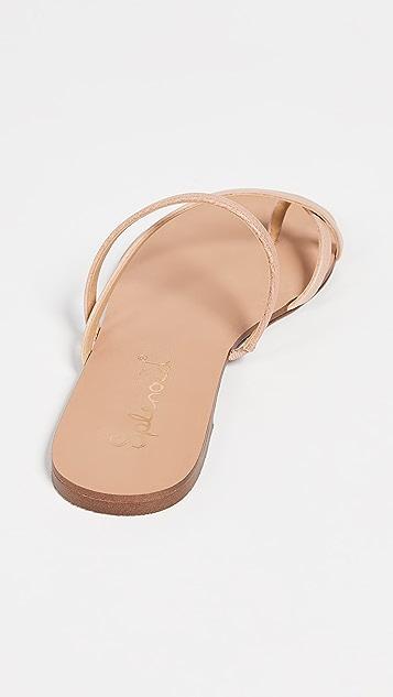 Splendid Trenton 趾环无跟便鞋