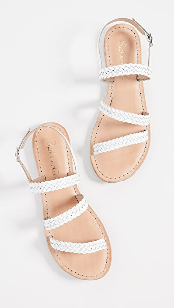 Splendid Truman 编织凉鞋