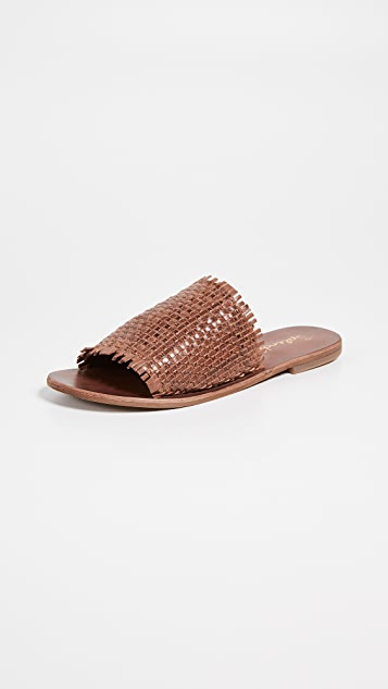 Splendid Slippers Truth Woven Slide Sandals