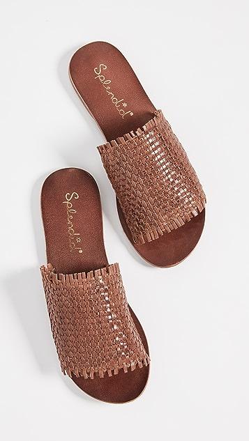 Splendid Truth Woven Slide Sandals