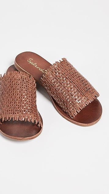Splendid Плетеные сандалии Truth без застежки