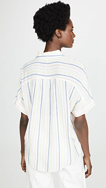 Splendid Picnic Stripe Button Down