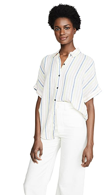 Splendid Рубашка на пуговицах в полоску Picnic