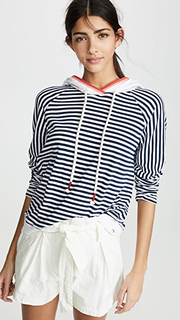 Splendid x Gray Malin Seaside Stripe Sweatshirt