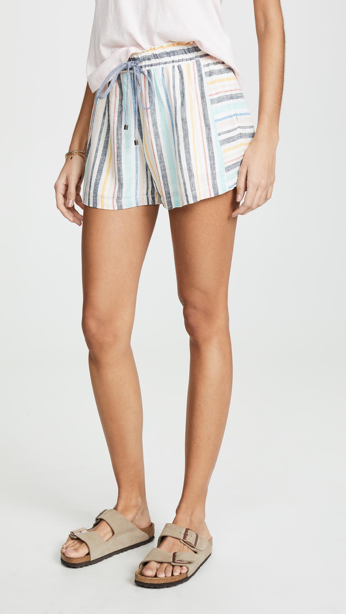 Splendid x Grey Malin Playa Stripe Shorts