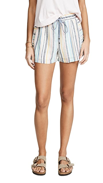 Splendid x Gray Malin Playa Stripe Shorts